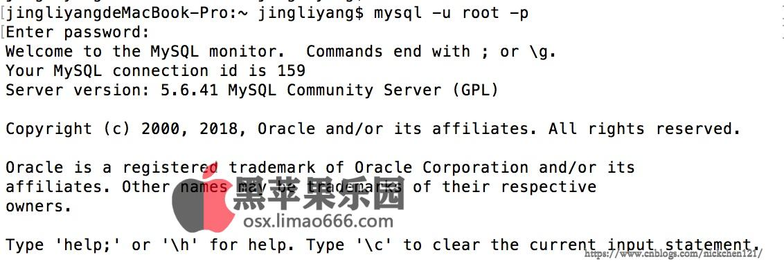 黑苹果Mac如何安装MySQL