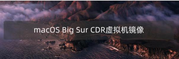 macOS 11.5 Big Sur 正式版(20G71)虚拟机CDR格式