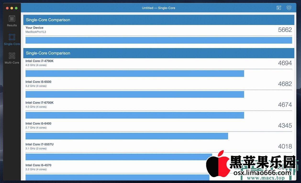 Mac硬件性能跑分工具 Geekbench for Mac