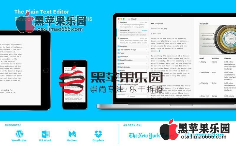 iA Writer Pro For Mac v5.6.7 专业文本编辑写作软件